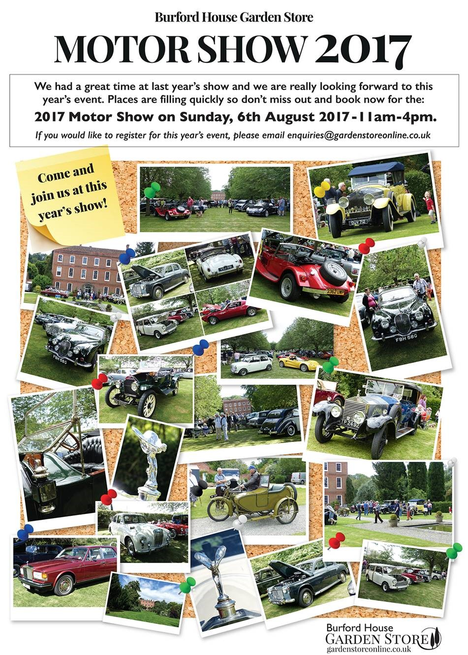 Burford House Motor Show