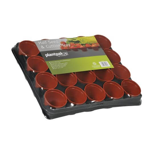 Half Seed & Cutting Tray 20 Pots by PlantPak