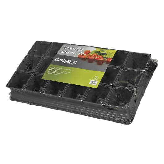 Vegetable Growing Kit by PlantPak