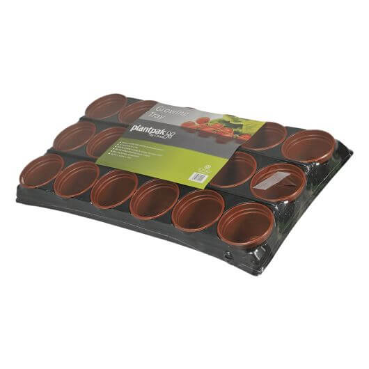 Growing Tray 18 Pots by PlantPak