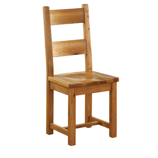 Vancouver Petite Oak Dining Chair with Timber Seat (NB004)
