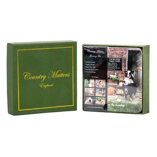 Country Matters coasters - Farming Fun