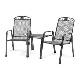 Kettler Siena Companion Set (Iron Grey)