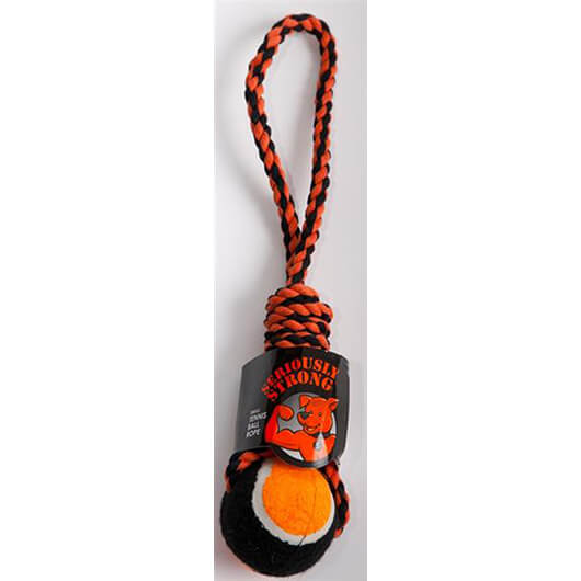 Petface SS Tennis Ball Rope Large