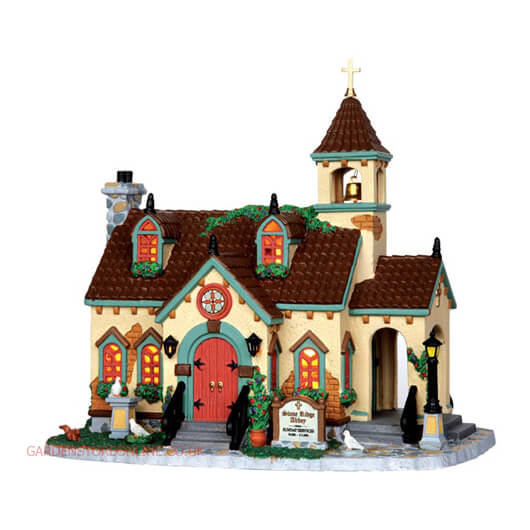 Lemax Stone Ridge Abbey (35524)
