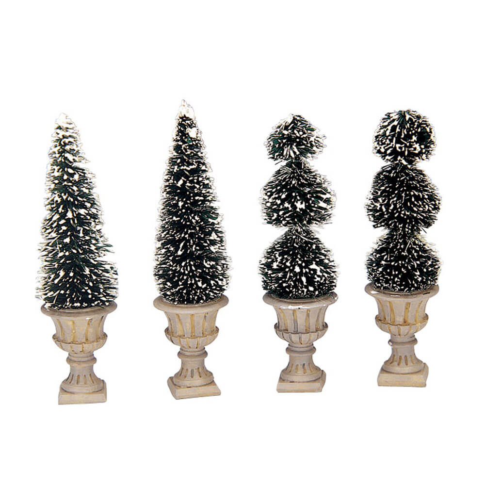 Lemax Cone-Shaped & Sculpted Topiaries (34965)