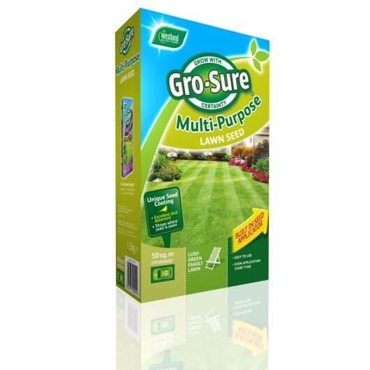 Gro-Sure Multi Purpose Lawn Seed 10sq.m