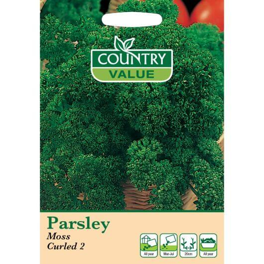 Parsley Moss curled 2 CV MF Seeds