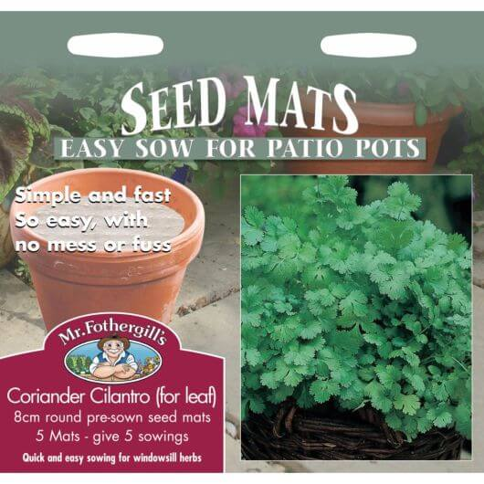 Coriander Cilantro (for leaf) MF Herb Seed Mats