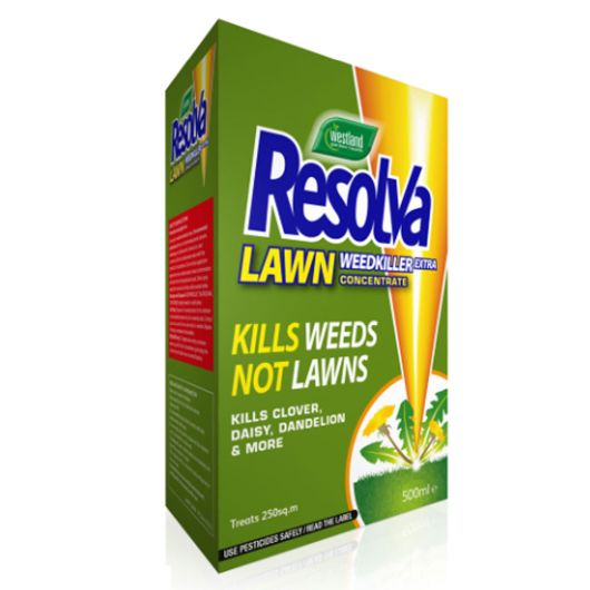Resolva Lawn Weedkiller 500ml Concentrate