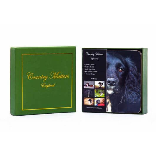 Country Matters Coasters - Spaniels