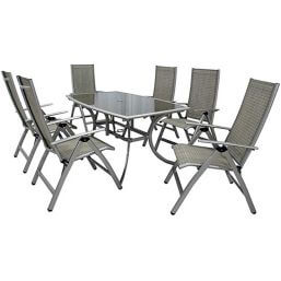 Leisuregrow Gold Coast Reclining 6 Seater Set