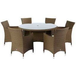 Hartman Madison Weave 6 Seater Set