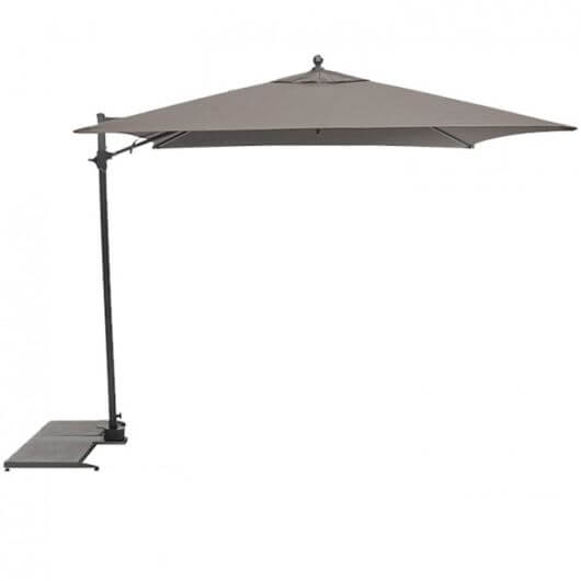 Parasol 2.5m Free Arm Taupe Canopy