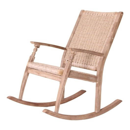 LG Outdoor Hanoi Vintage Rocking Chair - Natural