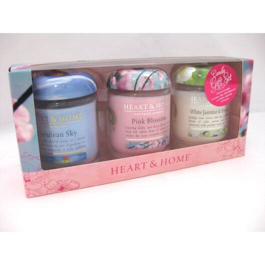 Heart & Home Small Jar Candle Gift Set