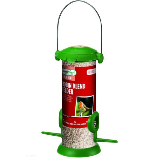 Filled Flip Top Robin Blend Feeder