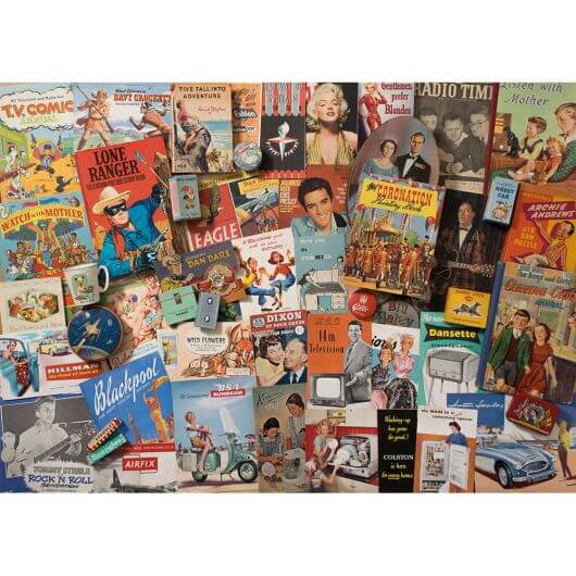 Spirit of the 50s Jigsaw (1000 pieces)