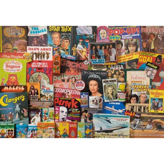 Spirit of the 70s Jigsaw (1000 pieces)
