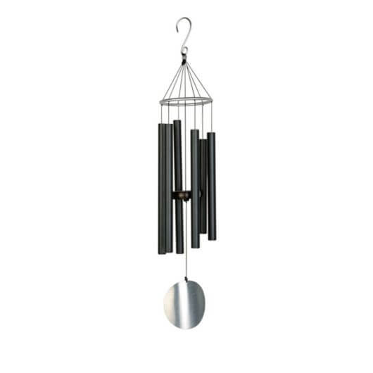 "Fountasia Aureole Tunes Windchime - 28"" Black"