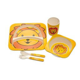 Epicurean Lion Eco 5 Piece Dinner Set