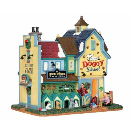 Lemax Rex & Spot's Doggy School (65109)