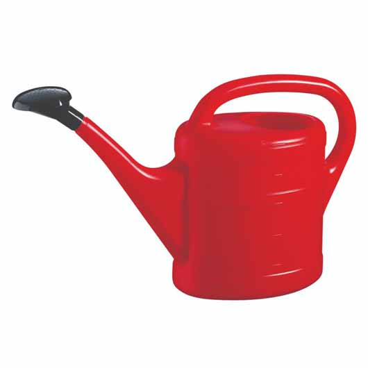 Essential Watering Can 5L Red