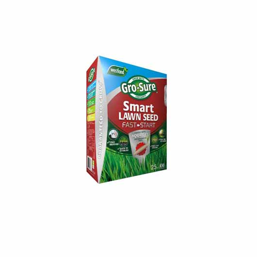 Gro-Sure Smart Lawn Seed Fast Start 25m2