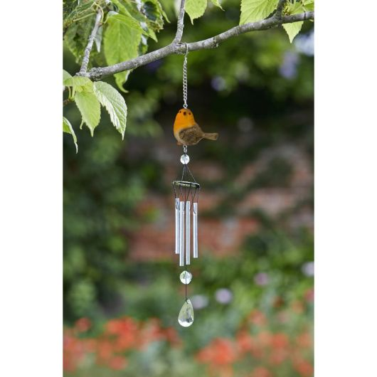 Smart Garden Robin Windchime 34cm