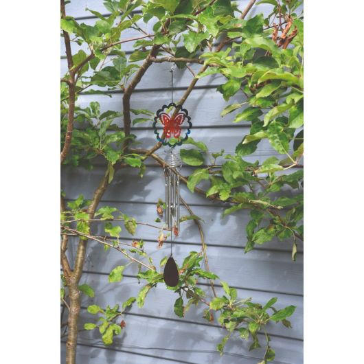 Smart Garden Butterfly Wind Chime 47cm