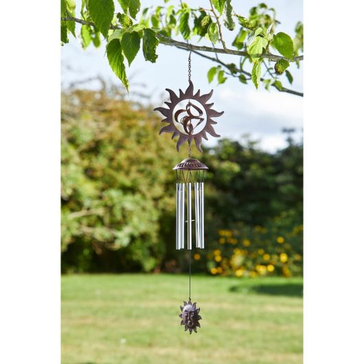 Smart Garden Rusty Sun Windchime 72cm