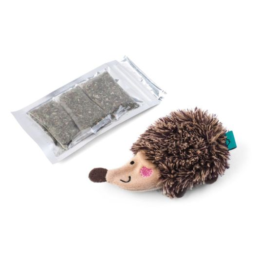 Zoon Nip-It Refillable Catnip Hoglet