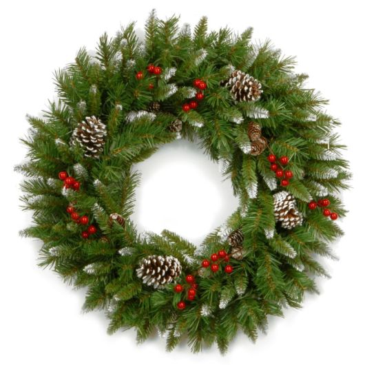 "National Tree 12"" Frosted Berry Wreath"